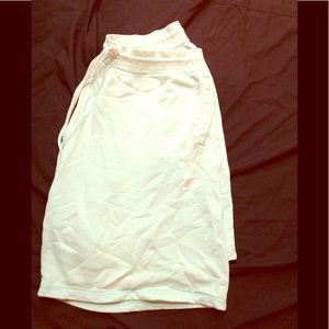 Women's size 2XL mint green colored NIKE shorts